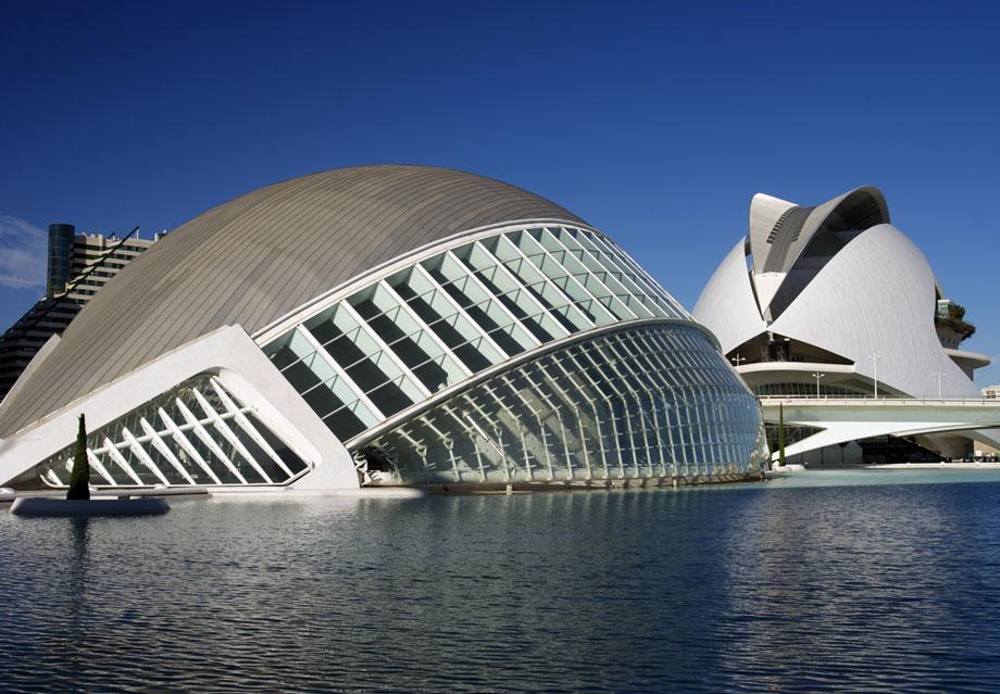 Valencia España Ciudad Artes Y Ciencias